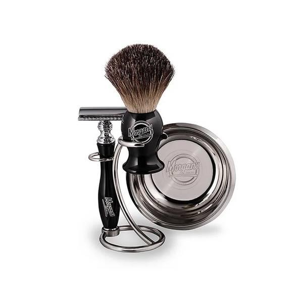 Morgan`s pomade - barberingsett.